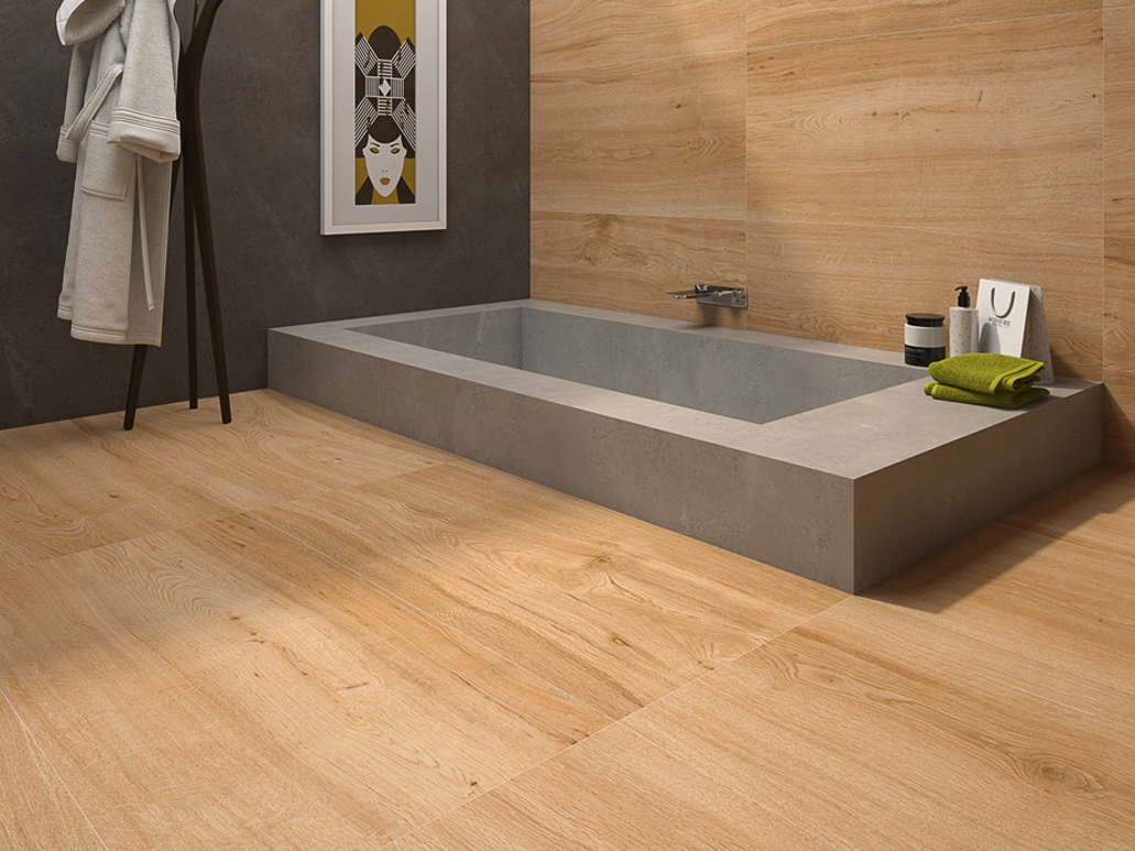 Promotion carrelage sol aspect bois at for Achat carrelage