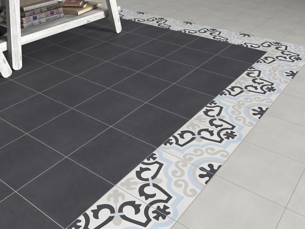 Carrelage sol carreaux de ciment for Carrelage aspect carreaux de ciment