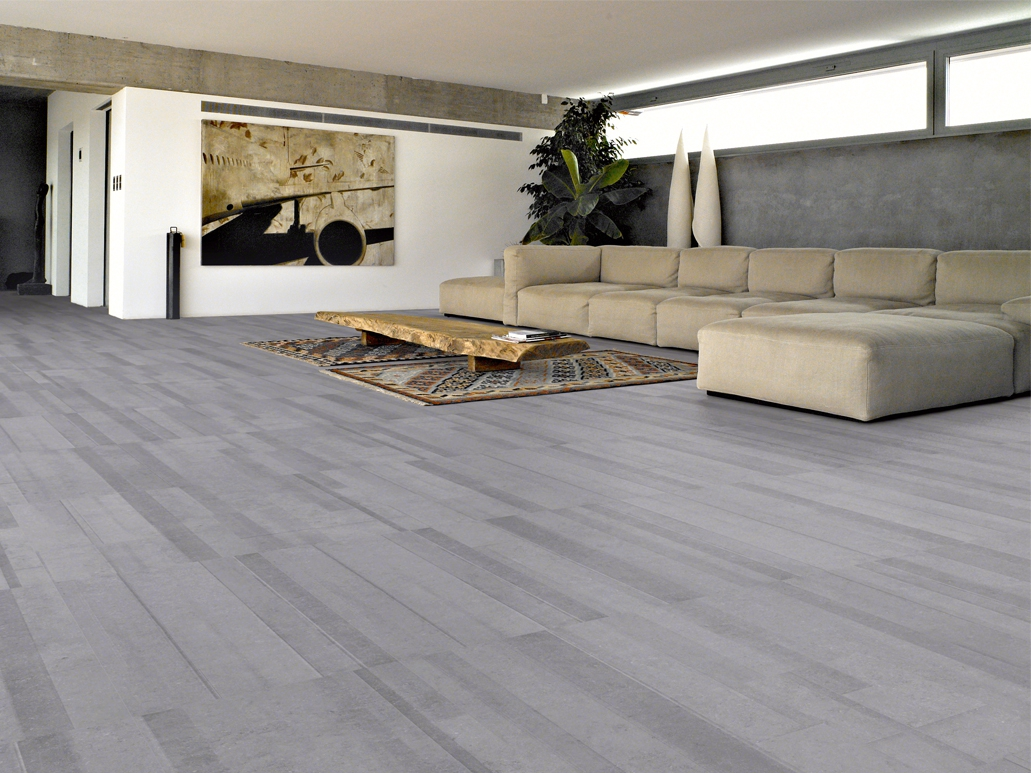 Promotion carrelage sol aspect pierre bleue Bs