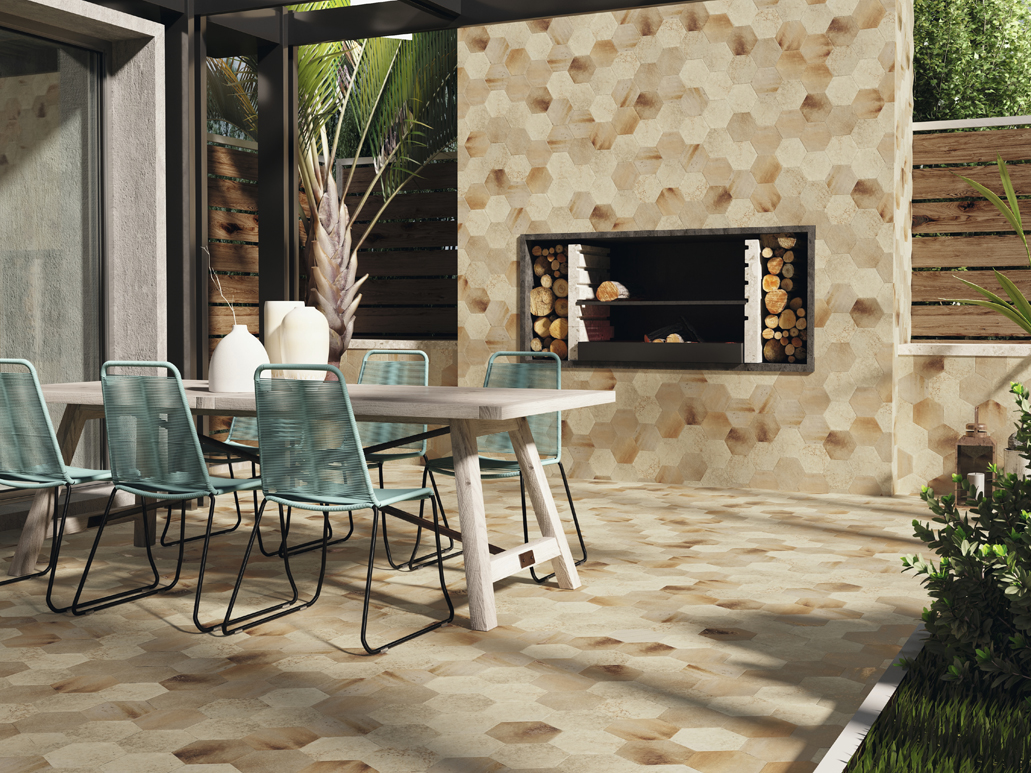 Carrelage sol cottage Mars