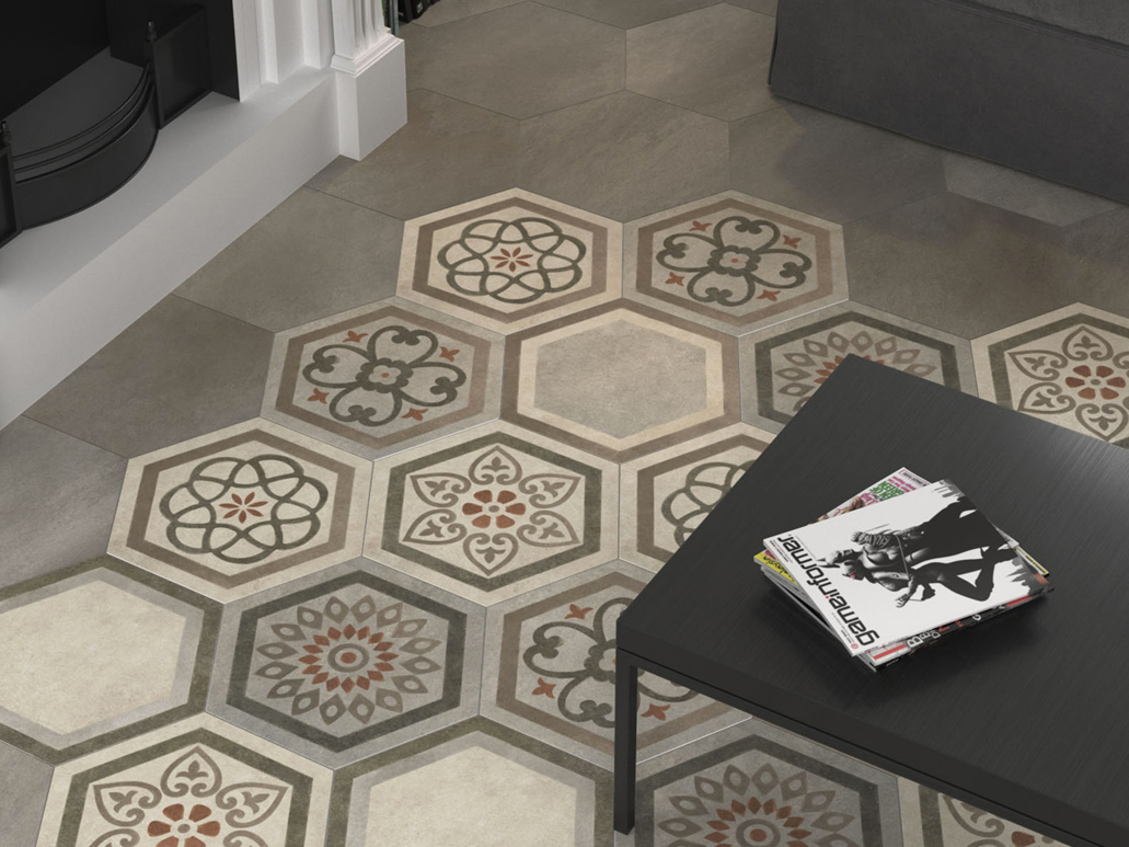 Carrelage sol hexagonal - Carrelage hexagonal sol ...