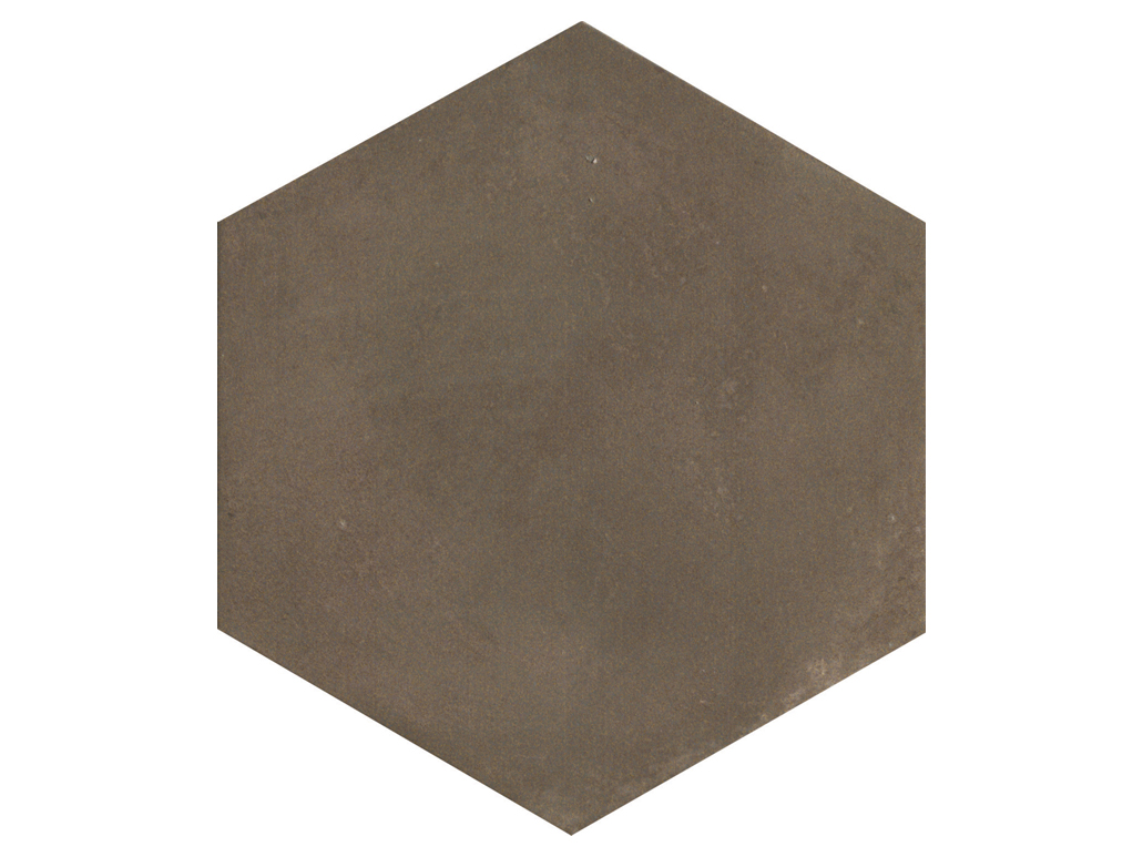 Carrelage sol hexagonal